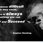 Stephen Hawking Motivational Quotes Pinterest