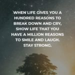 Strong Quotes About Life Facebook