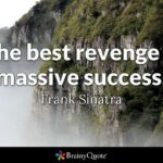 Success Revenge Quotes Twitter