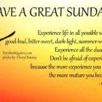 Sunday Words Of Encouragement