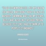 Swimming Quotes Short Tumblr