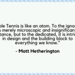 Table Tennis Motivational Quotes