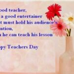 Teacher Appreciation Day Message