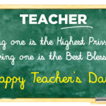 Teacher Blessing Quotes