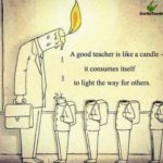 Teacher Candle Quote Twitter