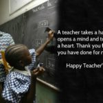 Teachers Day Inspirational Message Facebook