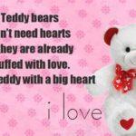 Teddy Bear Day Sms Pinterest