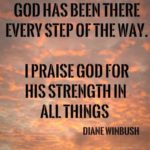 Thanking God For Strength Quotes Pinterest
