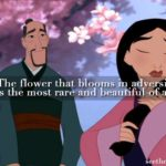 The Flower That Blooms In Adversity Quote Tumblr