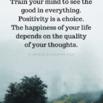 Think Positive Thoughts Quotes Facebook