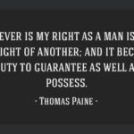 Thomas Paine Quotes Rights Of Man