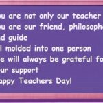 Thought Of The Day On Teachers Day Pinterest