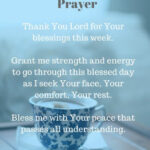 Thursday Morning Prayer Quotes Tumblr