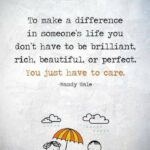 To Make A Difference In Someone's Life Quote Twitter