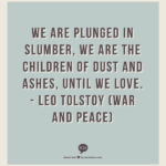 Tolstoy Quotes War And Peace