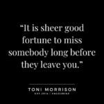 Toni Morrison Quotes Pinterest
