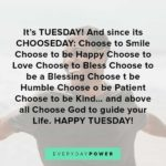 Tuesday Uplifting Quotes