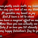 Valentine Message For Girlfriend In English Twitter