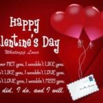 Valentine's Day Greeting Card Messages For Friends Facebook