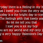 Valentines Day Message For Him