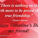 Valentine's Day With Friends Quotes