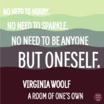 Virginia Woolf Quotes A Room Of One's Own Tumblr