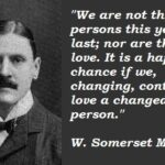 W Somerset Maugham Quotes