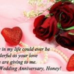 Wedding Anniversary Wishes For Wife Facebook