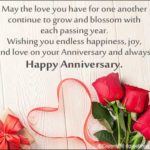 Wedding Anniversary Wishes With Photo