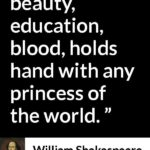 William Shakespeare Quotes On Education Pinterest