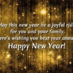 Wish You Happy New Year To You And Your Family Twitter