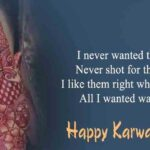 Wishes For Karwa Chauth Twitter