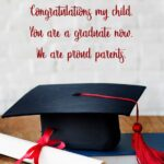 Words For My Son On His Graduation Pinterest
