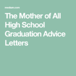 Words Of Advice For High School Graduate