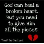Words Of Encouragement For Broken Heart Facebook