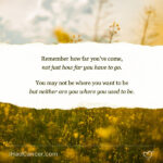 Words Of Encouragement For Cancer Caregivers