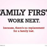Work And Family Quotes Facebook