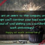 Work Anniversary Message For Boss Pinterest