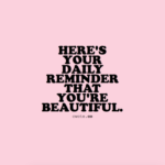 You Are So Beautiful Message For Her Tumblr