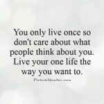 You Only Live Once Quotes Facebook